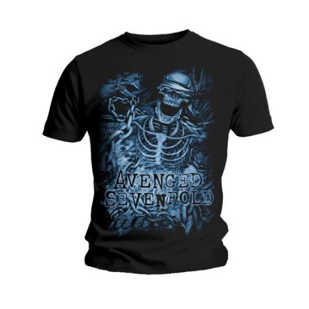 AVENGED SEVENFOLD TSHIRT - CHAINED SKELETON