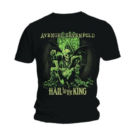 AVENGED SEVENFOLD MENS BLACK TSHIRT - EN VIE