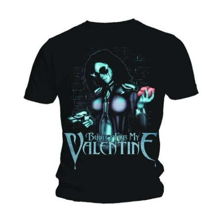 BULLET FOR MY VALENTINE MENS BLACK TSHIRT - ARMED