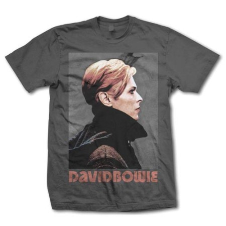 DAVID BOWIE MENS TSHIRT - PORTRAIT