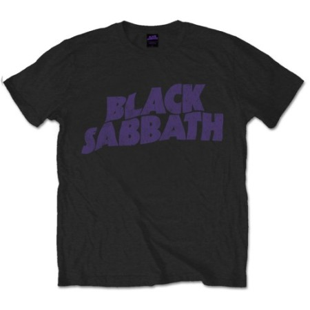 BLACK SABBATH MENS TSHIRT - PURPLE LOGO