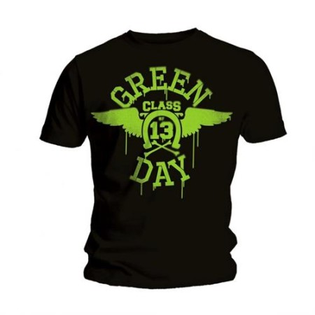 GREEN DAY MENS BLACK TSHIRT - CLASS OF 13