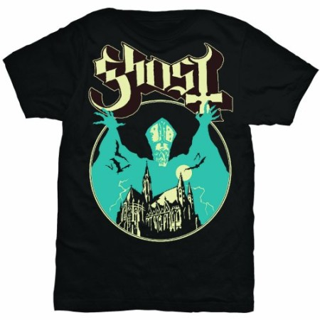 GHOST MENS BLACK TSHIRT - OPUS