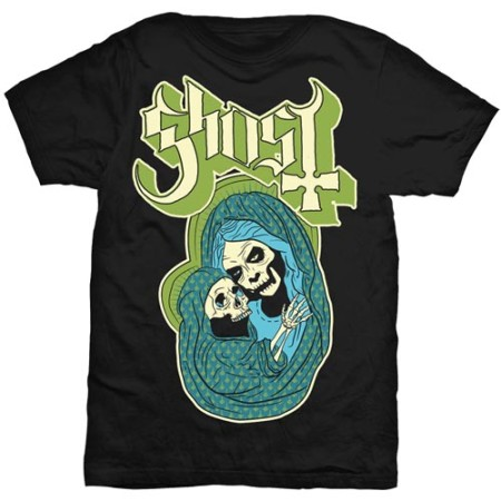 GHOST MENS BLACK TSHIRT - CHOSEN SON