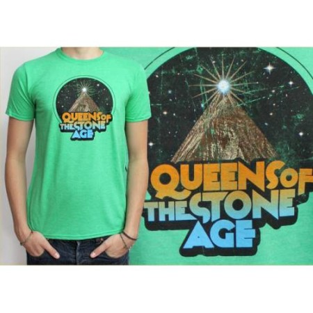 QUEENS OF THE STONE AGE MENS TSHIRT - SPACE MOUNTAIN