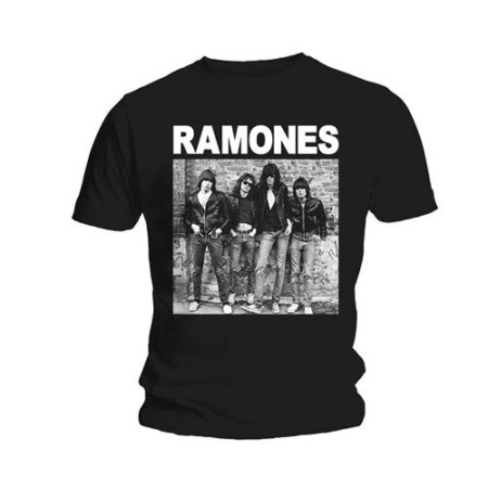 RAMONES MENS BLACK T-SHIRT - FIRST ALBUM