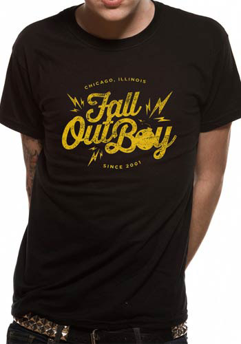 FALL OUT BOY MENS T-SHIRT - BOMB