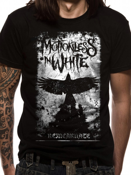 MOTIONLESS IN WHITE MENS BLACK T-SHIRT - PHOENIX