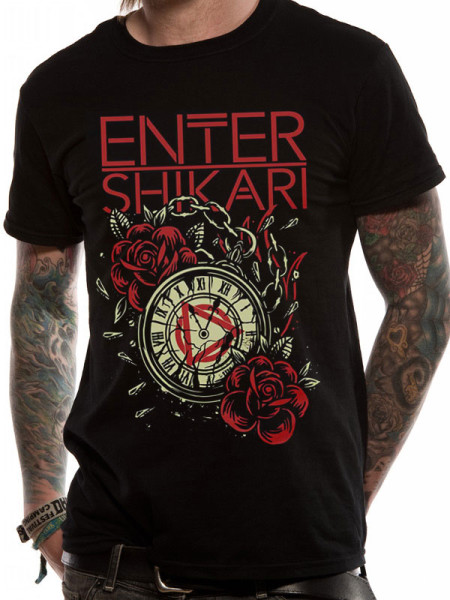 ENTER SHIKARI MENS T-SHIRT - WATCH