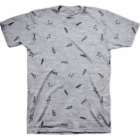 BRING ME THE HORIZON MENS GREY TSHIRT - NOT SO HAPPY