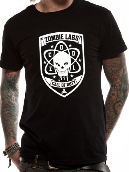 CALL OF DUTY BLACK OPS 3 MENS TSHIRT - ZOMBIE LABS